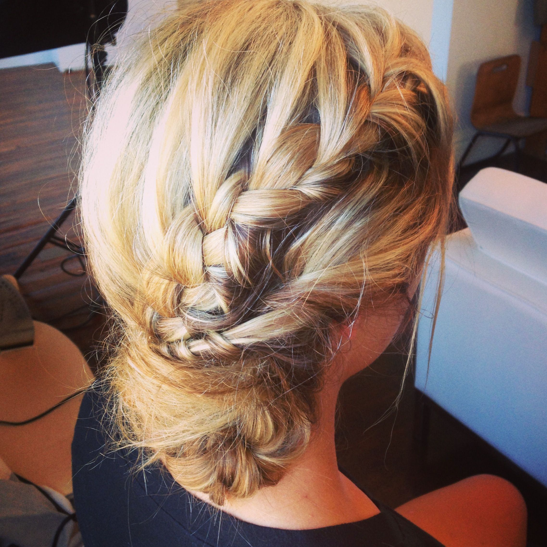 Braid updo style pinterest updo and hair dos