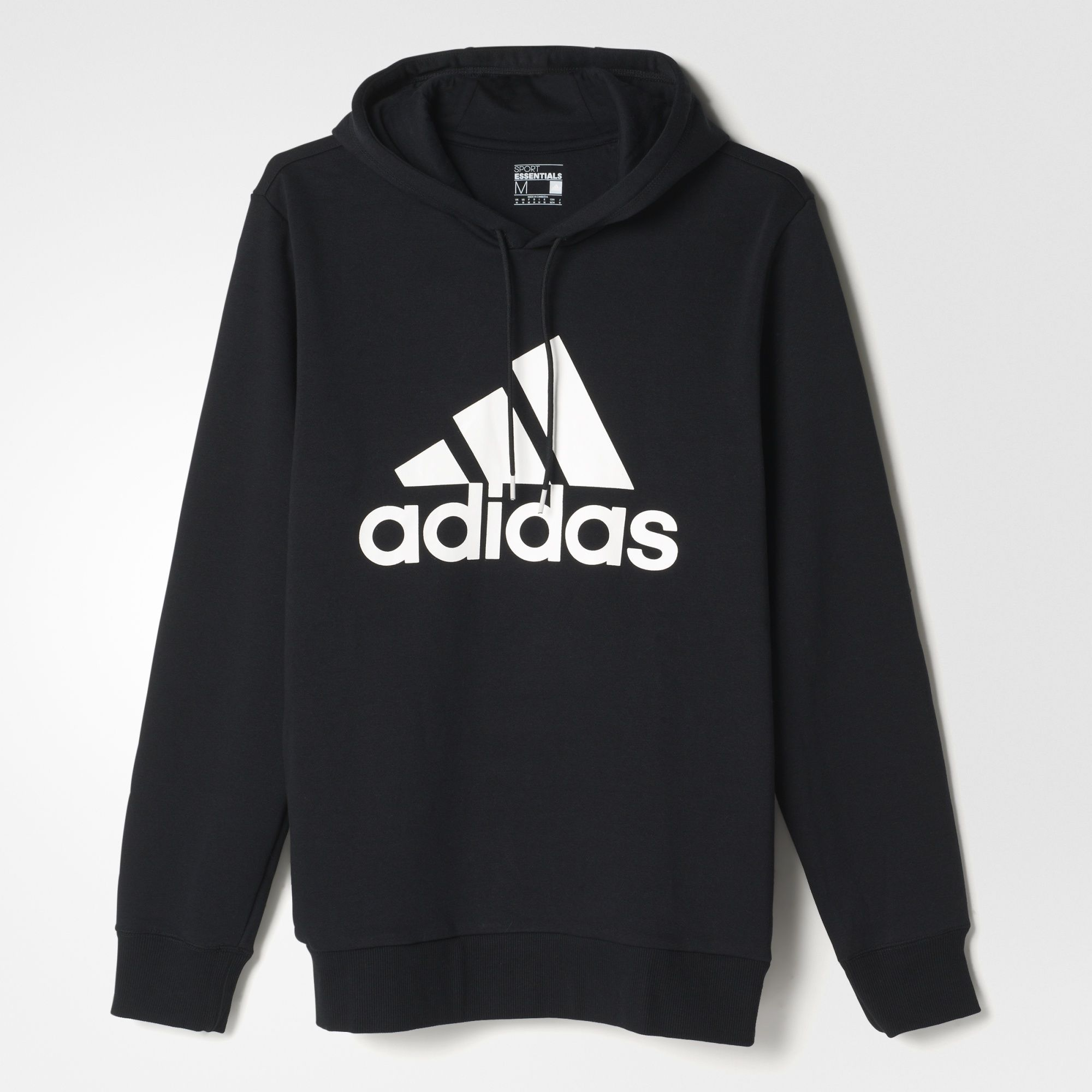 adidas - Sport Essentials Logo Hoodie Fleece ...