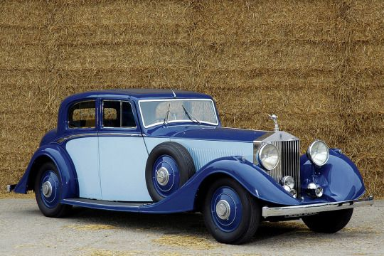 1934 Rolls Royce Phantom II Continental Sports Saloon
