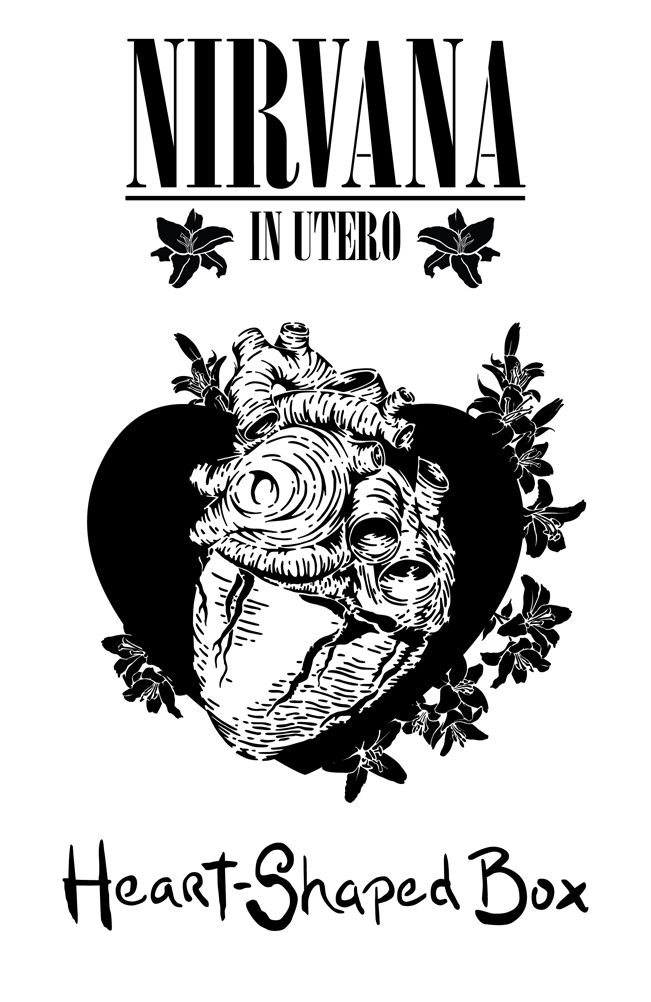Picture of a heart shaped box lyrics the crest