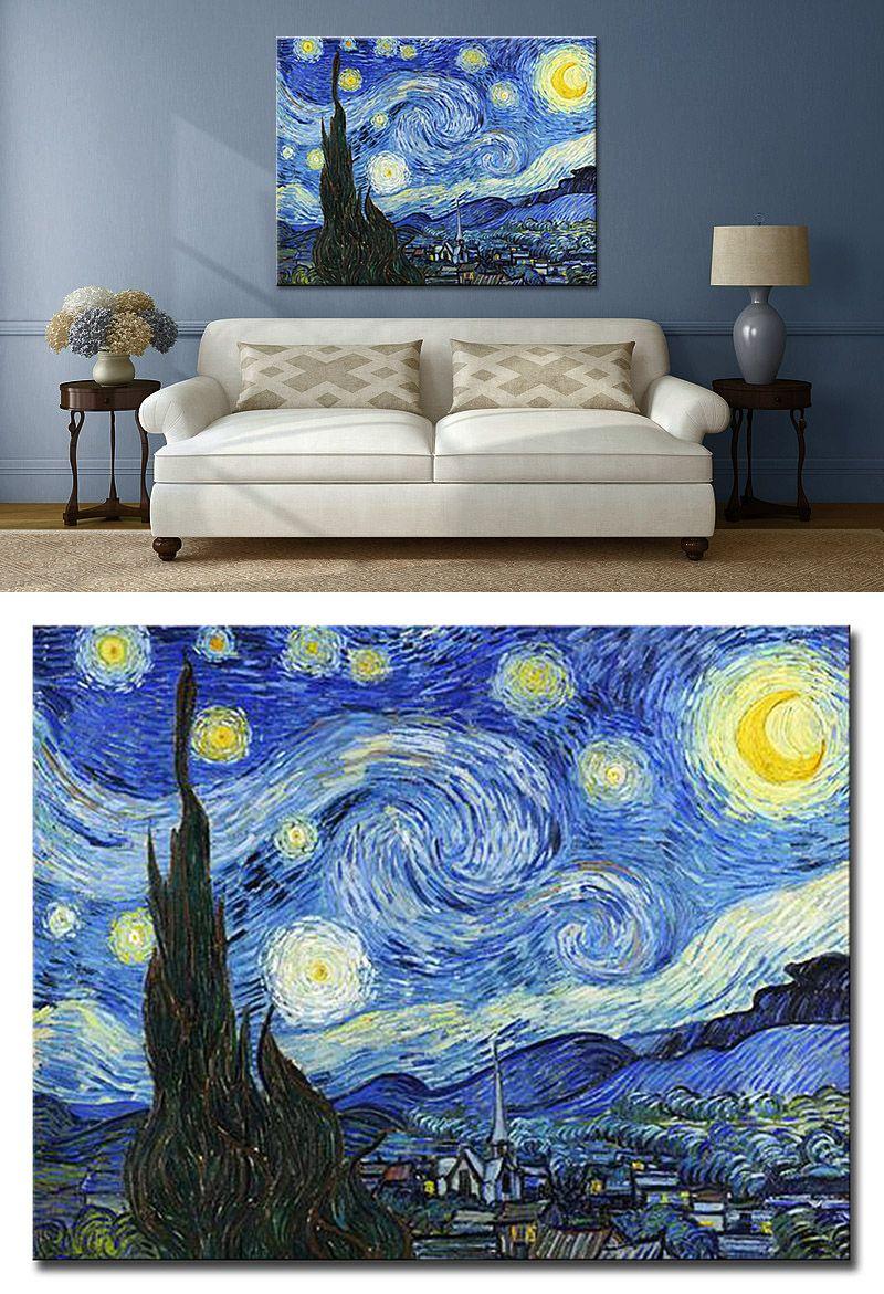 Cuadro Van Gogh La Noche Estrellada Van Gogh Arte Noche Estrellada Van Gogh La Noche