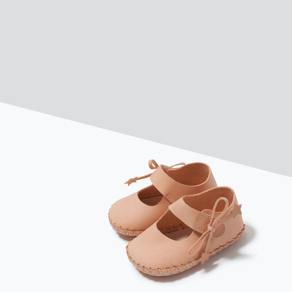 ZARA - MINI - BALLERINASKO I SKIND   Schuhe baby