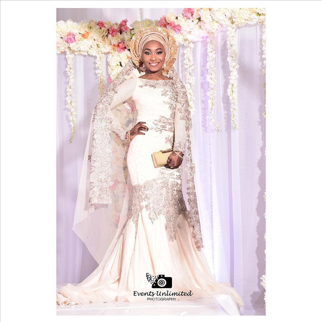 Hijab 26 Brides Nigerian Wedding Dress African Wedding Bride