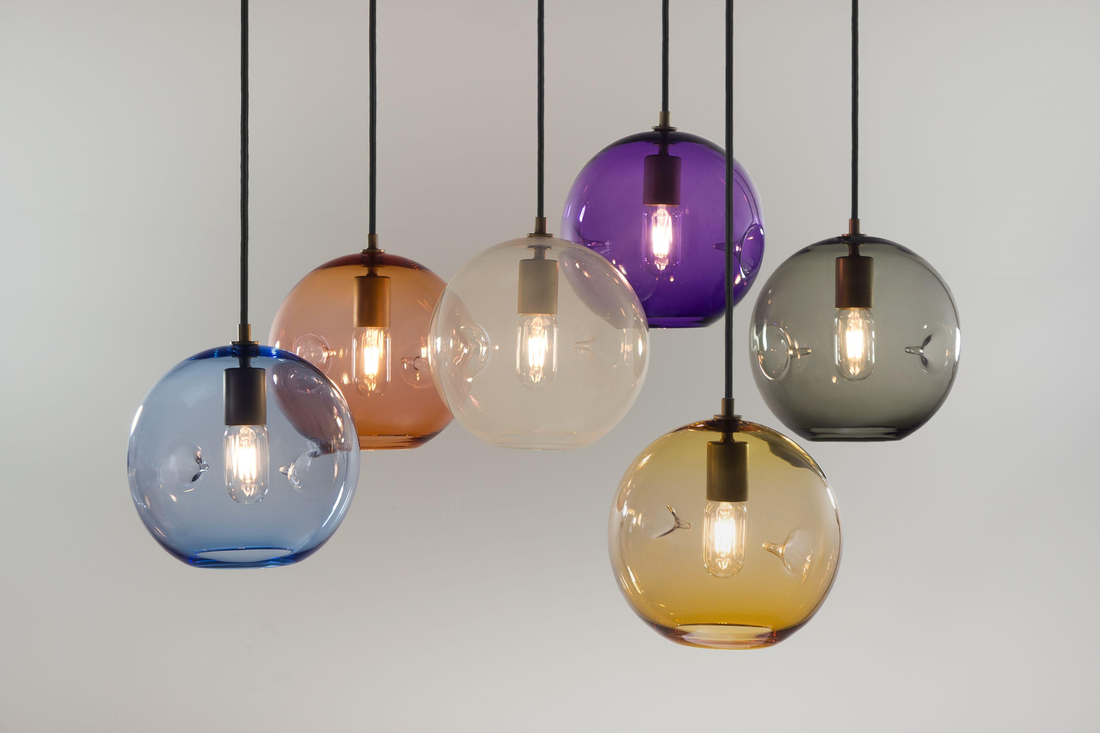 Poke Pendant Light Keep Hand Blown Glass Lighting Clear Glass