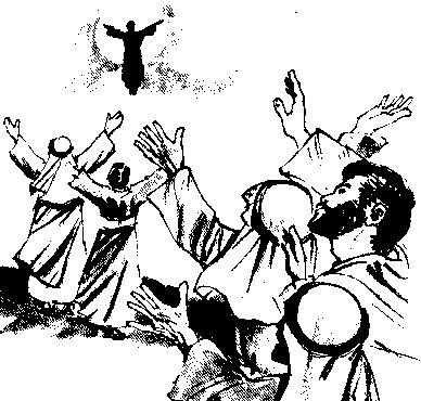 christelijke clipart jezus hemelvaart http clipart