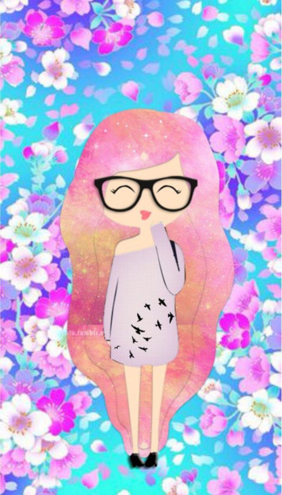 Pin By Layah Westbrook On Cute Wallpapers Cute Girl Wallpaper Cute Wallpapers Cute Drawings