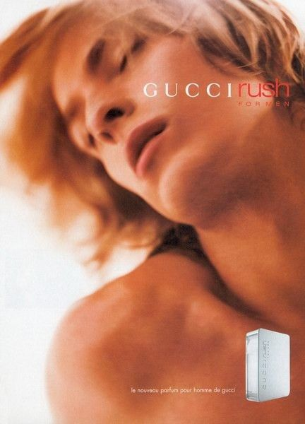 Risultati immagini per gucci rush for men advertisement