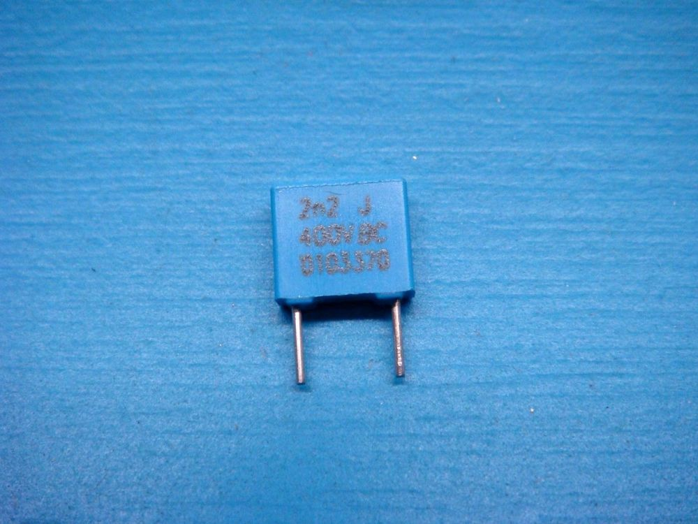 50 Bc Components 0022uf 400v 5 Mkt 2n2 Radial Metallized Poly Film Capacitor Bccomponents Electronics Components Diy Tech Capacitors