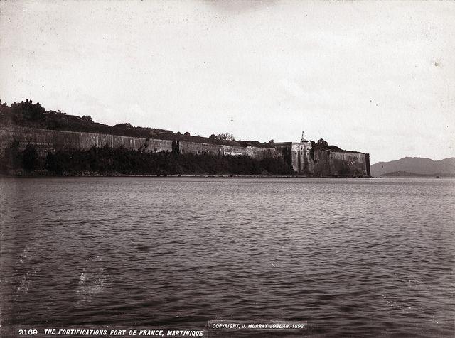 J. Murray Jordan - The Fortifications, Fort de France, Martinique, 1898