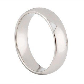 Mens palladium 950 6mm superior court wedding ring Palladium