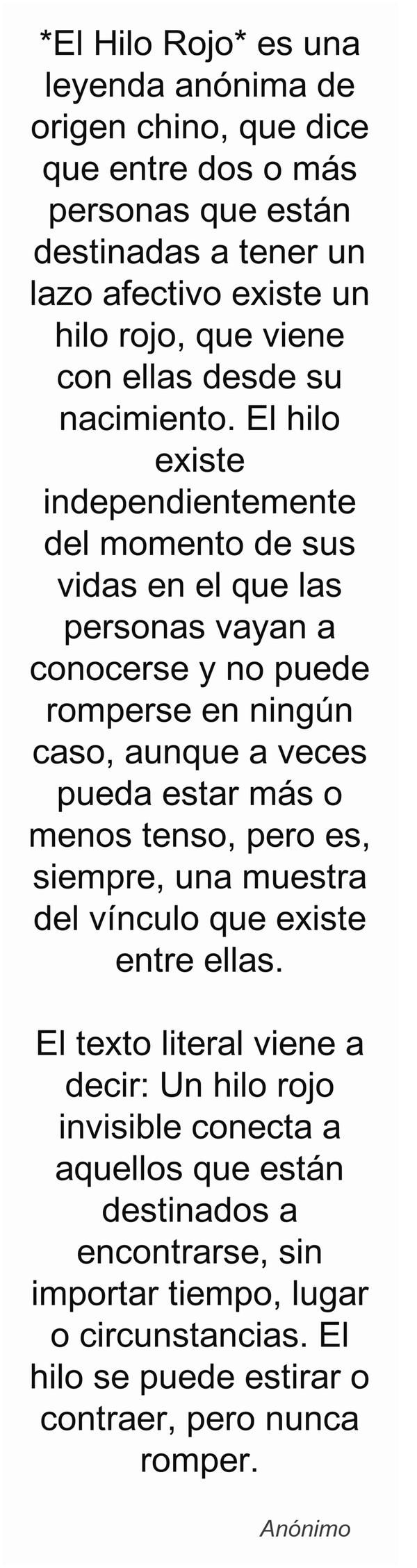 Leyenda El Hilo Rojo Quotes Pinterest Frases Thoughts And