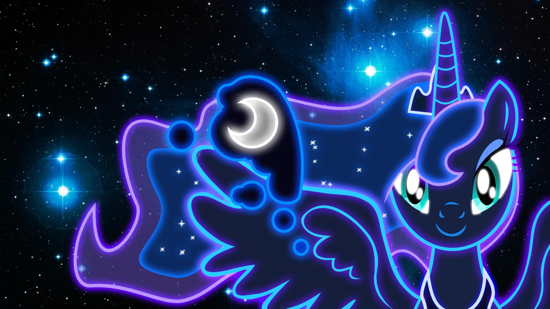 Neon Princess Luna Wallpaper By ZantyARZdeviantart On DeviantART