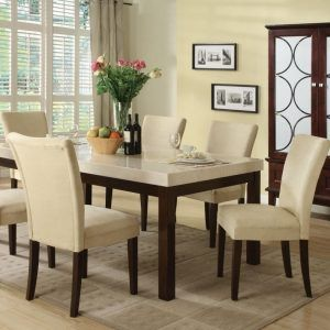 Dining Room Tables With Marble Tops