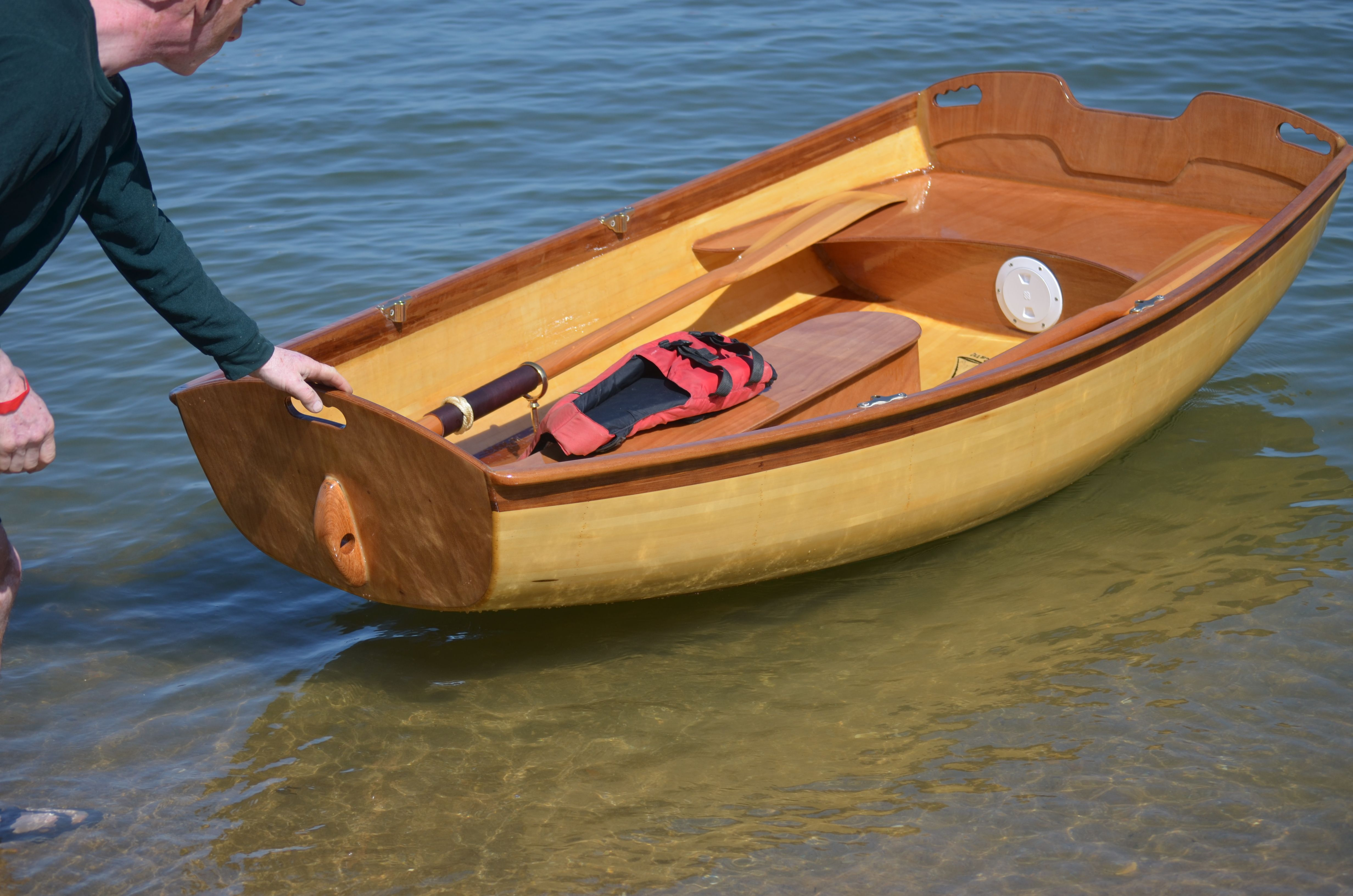 Kids at built a nice coot dinghy for Nice fishing boats