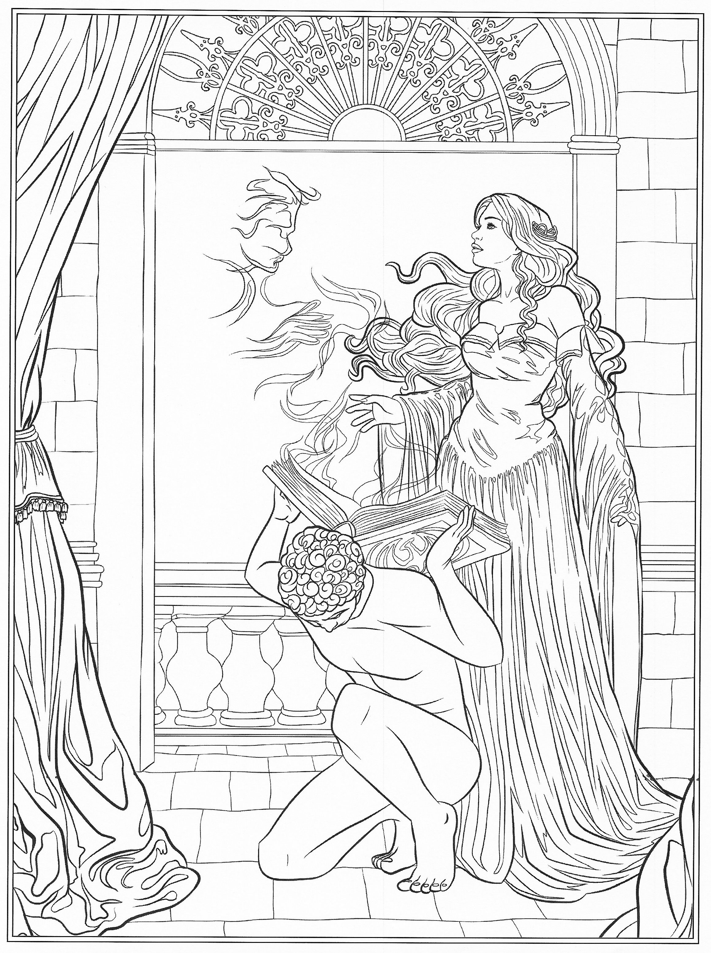Pin by anna ekback on art pinterest coloring books adult