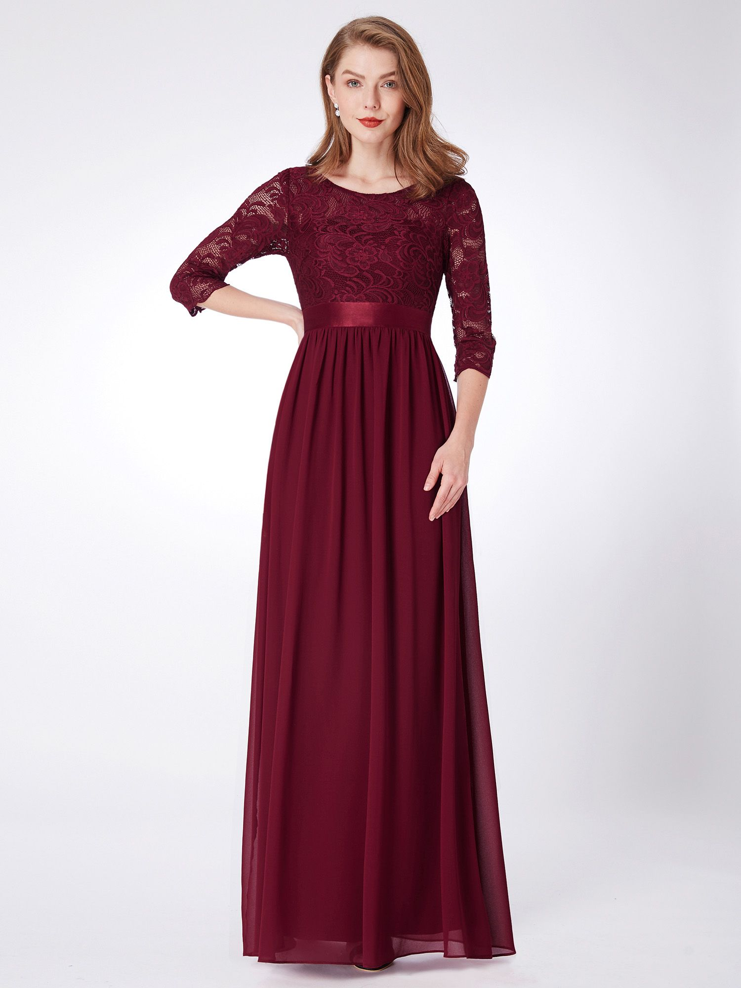 Clothing in 2020 burgundy bridesmaid dresses lace party