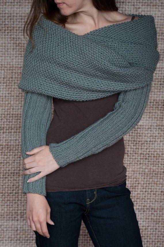 Trendy, stijlvol en veelzijdig multi use mouw wrap, sjaal, cowl breien patroon. Veel plezier dragen dit gebruiksvriendelijke brei hoes wrap op verschillende manieren.  Formaat voor vrouwen klein, medium, groot en x-large.  Moet vertrouwd zijn met elementaire brei steken en technieken.  Patroon is geschreven in gemakkelijk te lezen en volg instructies.  BREIEN PATROON ALLEEN. NIET KLAAR KLEDINGSTUK.  Patroon is een INSTANT DOWNLOAD-patroon. U zult een e-mail onmiddellijk na uw bevestigde…