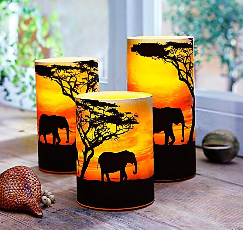 Teelichter Basteln teelichter basteln afrikanisch suche aydınlatmalar