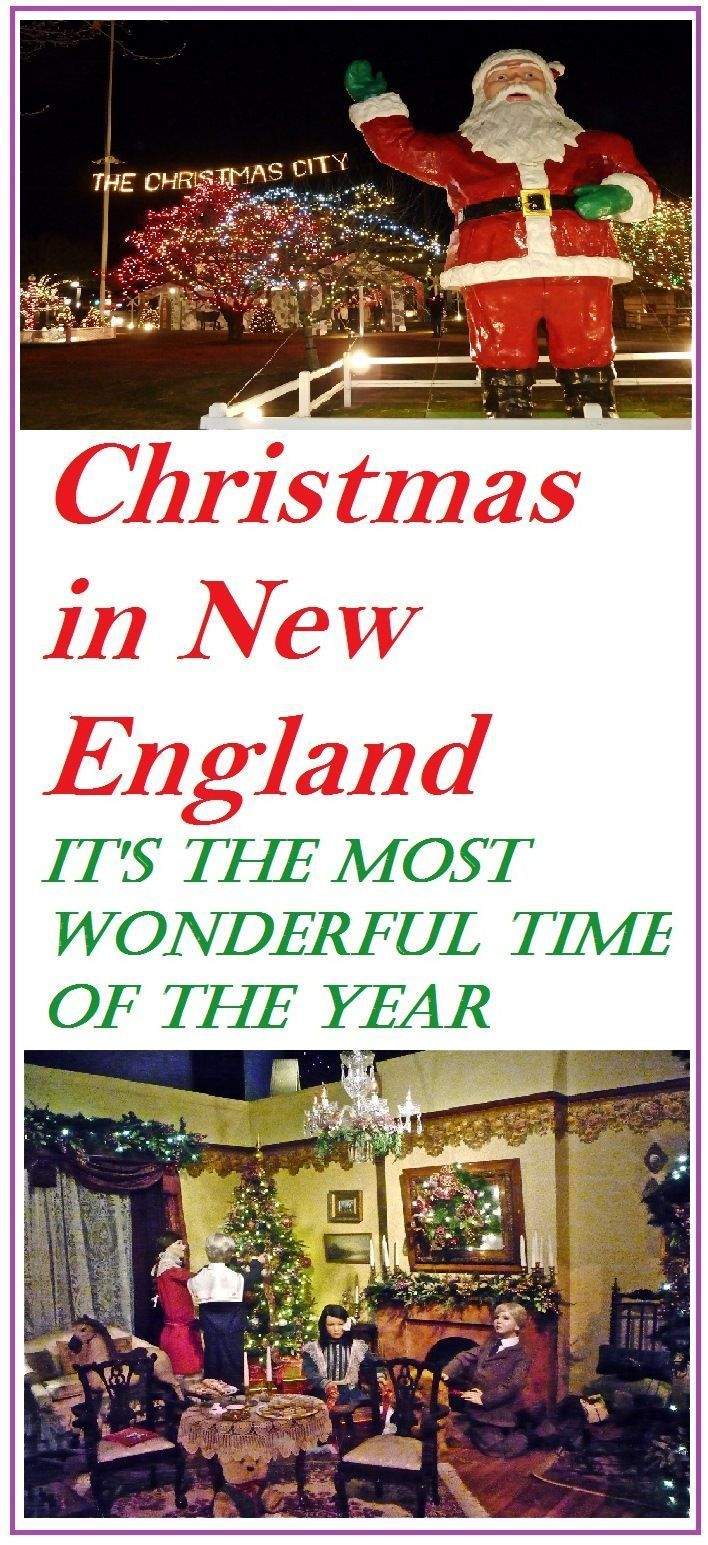 These Amazing Christmas Events in New England Will Get You
