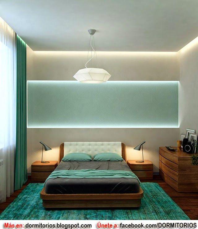Dormitorios matrimoniales en color turquesa dormitorios for Muebles de dormitorios matrimoniales