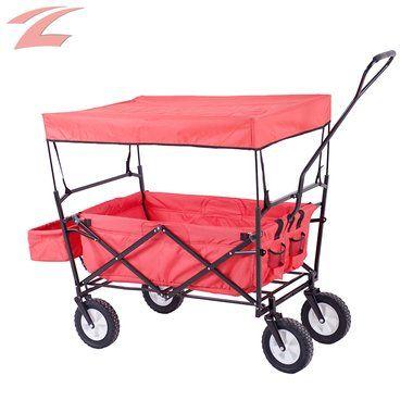 ZNL faltbarer Bollerwagen mit Transporttasche Transportwagen Gerätewagen ZTC-04