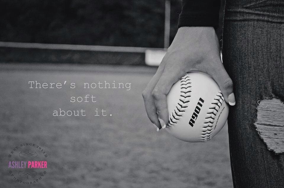 Senior picture. Softball quote Softball quotes, Softball