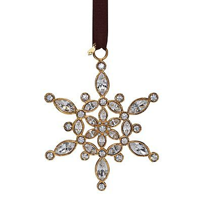 Bejeweled Ice Queen Snowflake Ornament