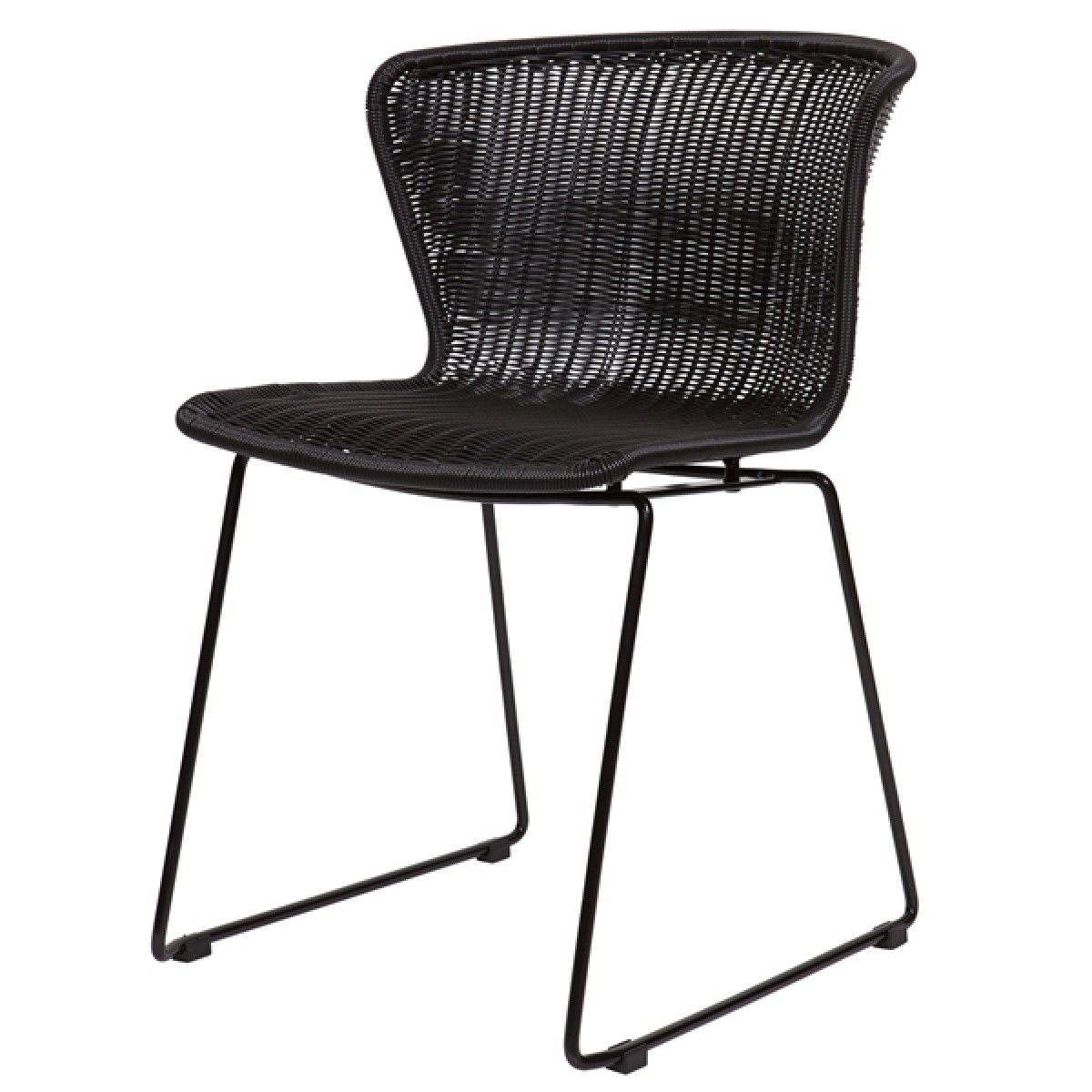 rattan schwarz cool the stylish wicker dining room chairs rattan dining chair dining chairs. Black Bedroom Furniture Sets. Home Design Ideas