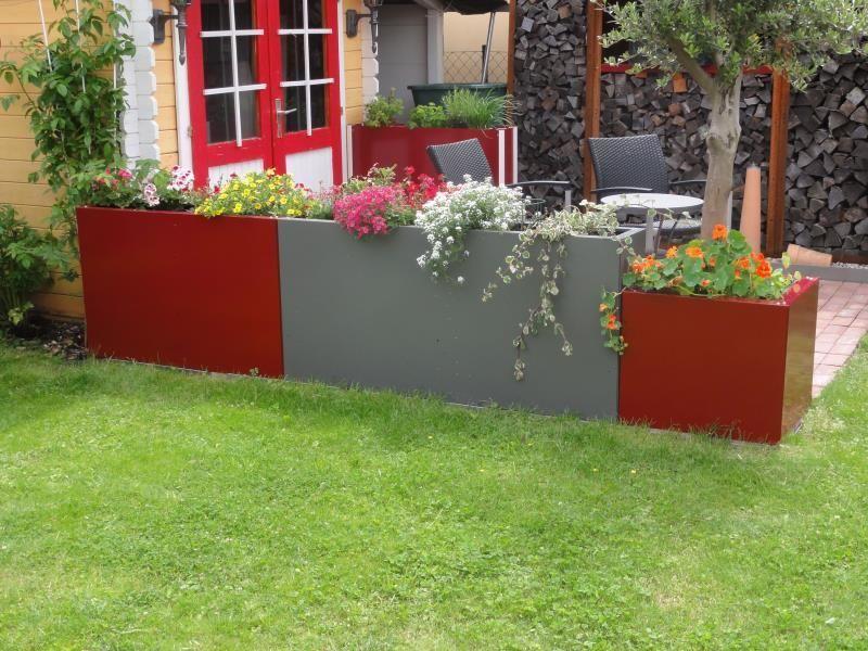 Hochbeet Urban Metall Frühbeet Sichtschutz Pinterest Garten