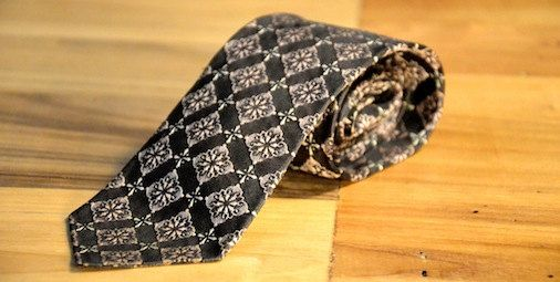 1960s mod skinny tie by ReCultured on Etsy, $25.00