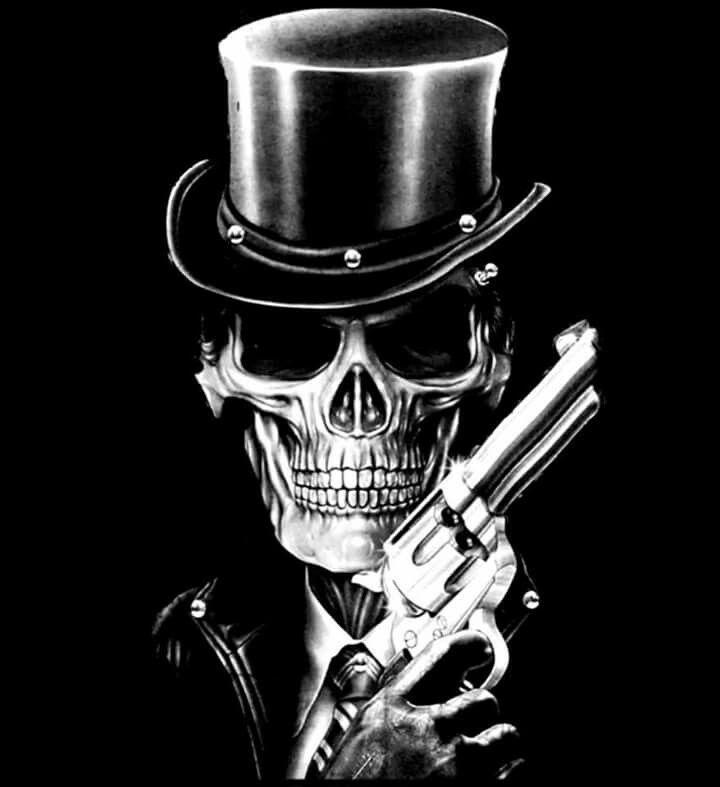 Крутые картинки со скелетами