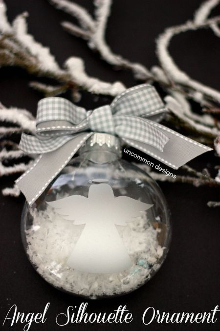 Silhouette Angel Ornament and Black Friday Silhouette Deals ...