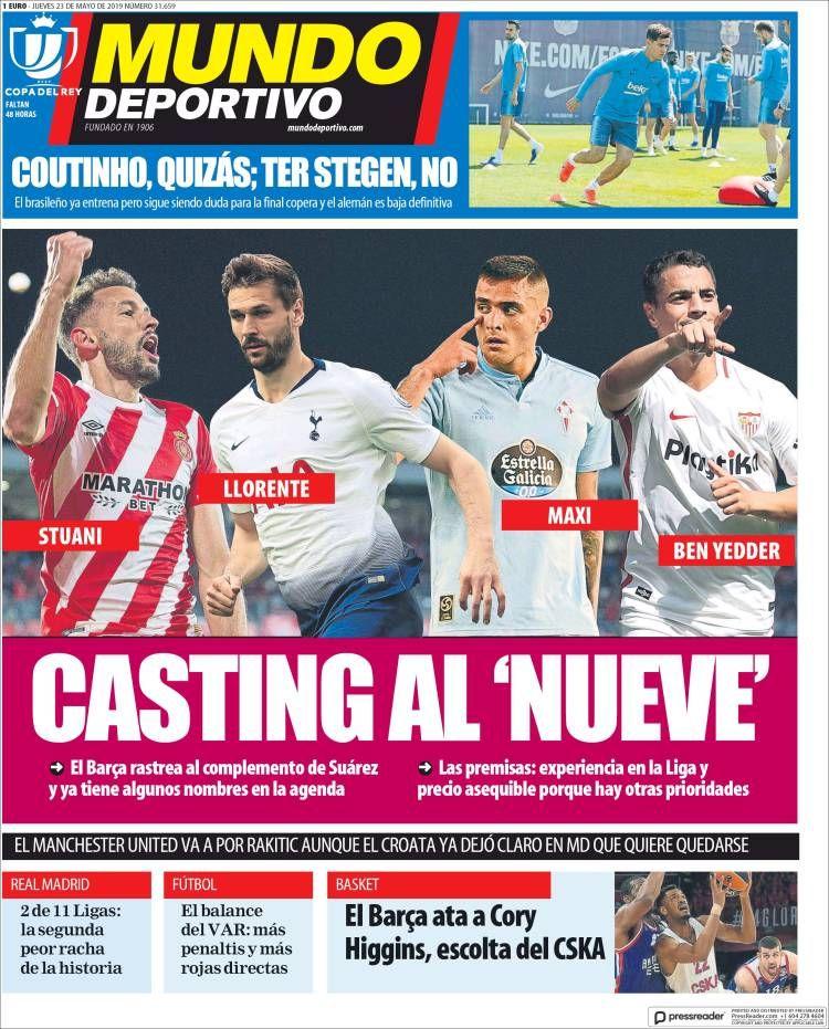 20190523 Periódico El Mundo Deportivo (España