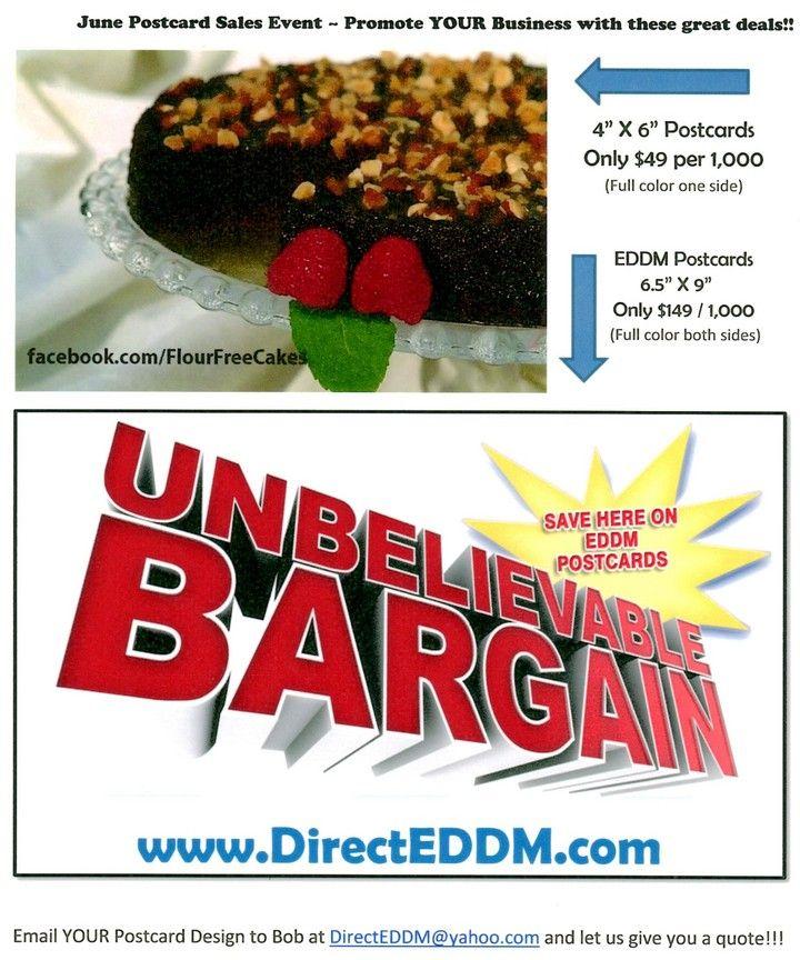 June Sales Event From Eddm Direct Mail Advertising For Clearwater Fl Direct Mail Advertising Postcard Design Sale Event