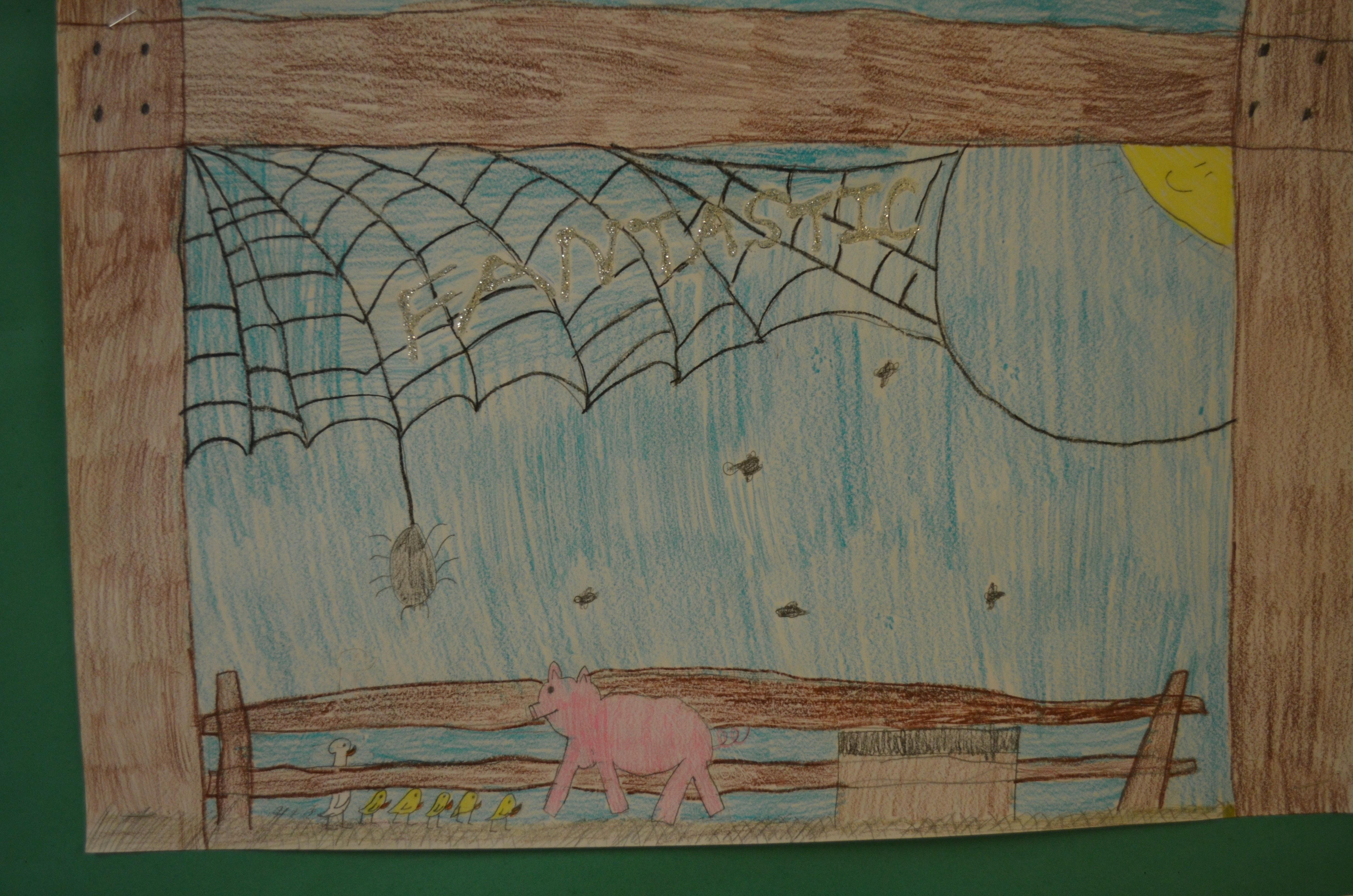 Charlotte Web | School Art Div 4 | Pinterest