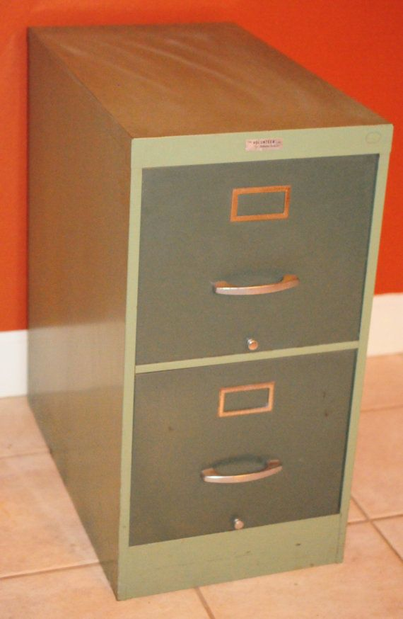 "Mid Century Modern ""Anderson Hickey Co"" File Cabinet ..."
