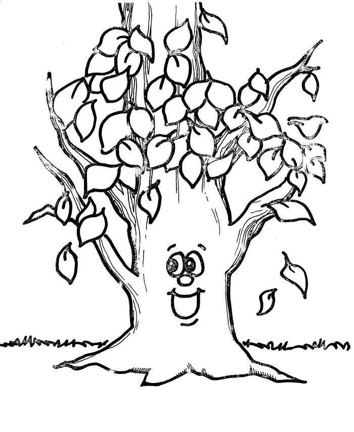 Pictures Tree Without Leaves Coloring Pages Tree Coloring Pages Tree Coloring Page Fall Coloring Pages Leaf Coloring Page