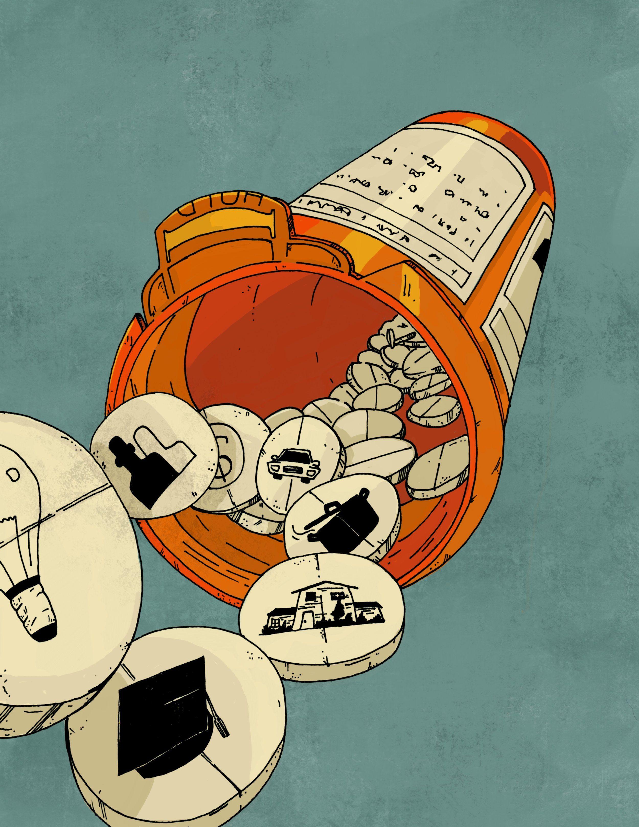 Social Determinants of Health | Social work practice, Illustrators,  Illustration