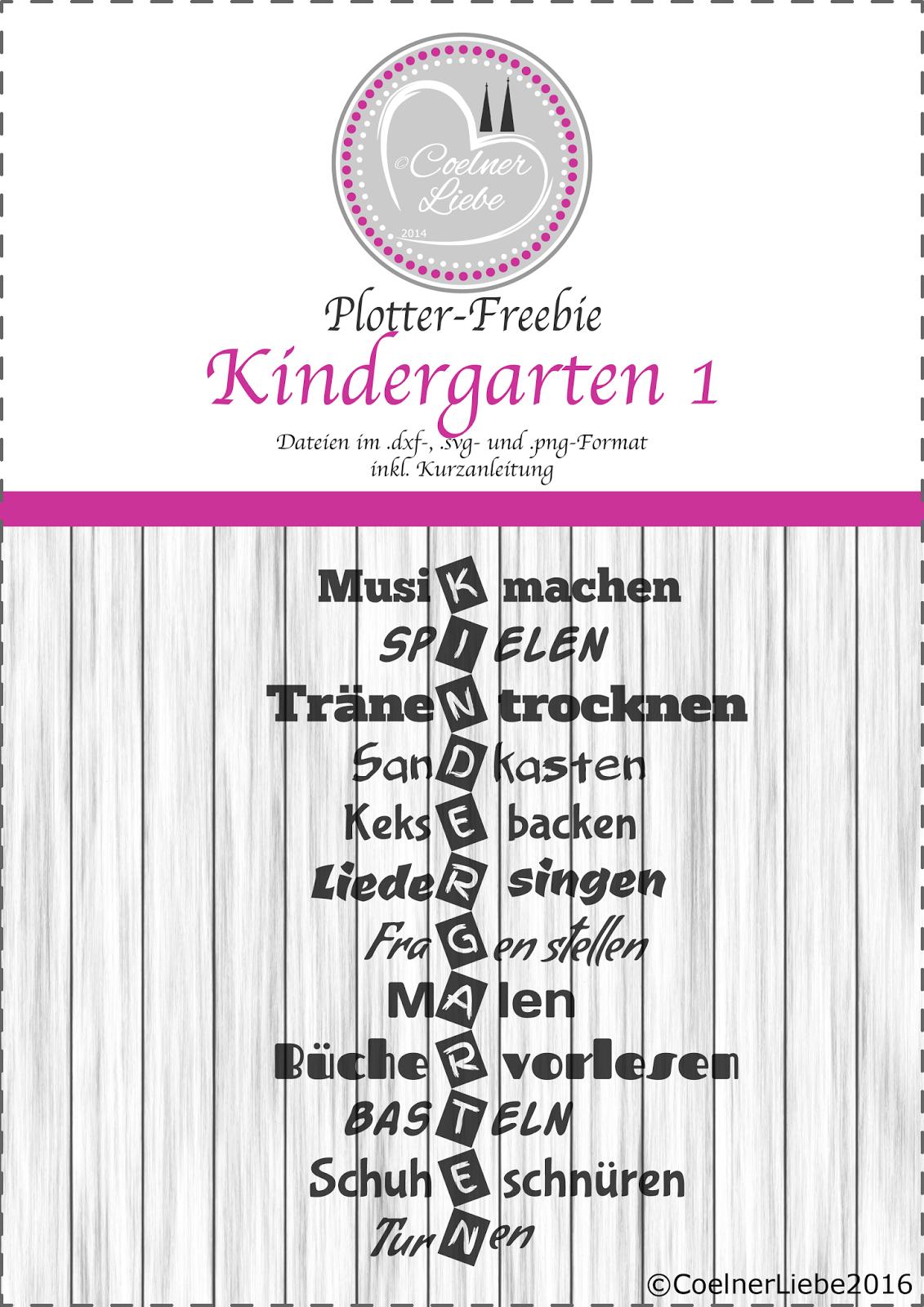 Kindergarten Freebie Kiga Tasche Danke Erzieher