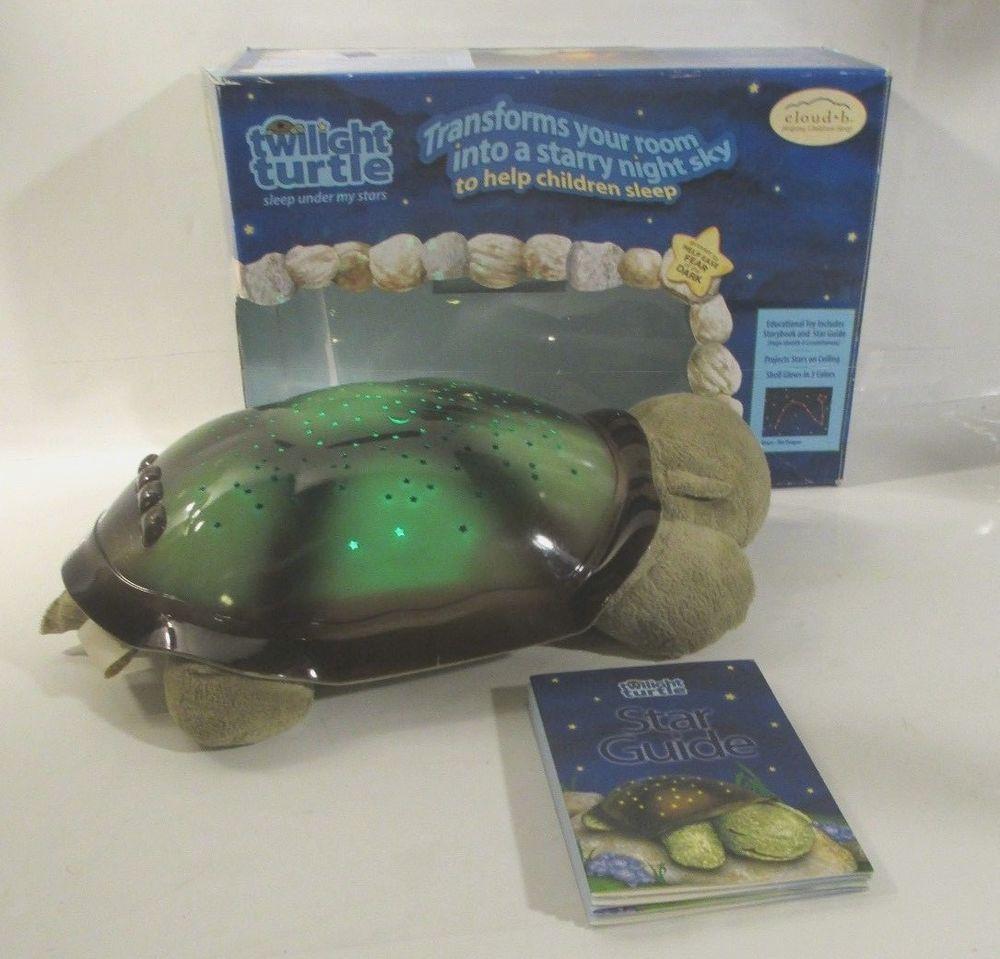 Cloud b Twilight Turtle Plush Nightlight Projector