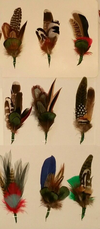 Lovely Hand Made Feather Hat Sticks For Friuli Alpini Hats. Found At Aviano  Mercatino Antiquariato.