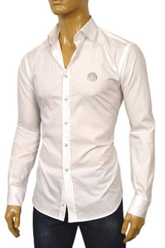 Mens Designer clothing | VERSACE Men's Dress Shirt #143 | Men ...