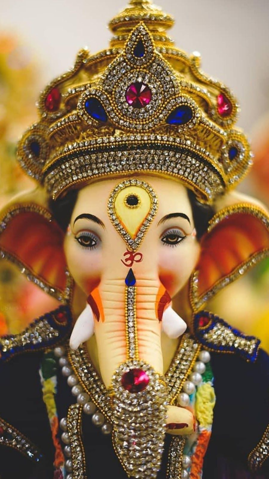 As The God Of Beginnings He Is Honoured At The Start Of Rites And Ceremonies New Year 2020 New Year Ganesh Images Ganpati Bappa Wallpapers Ganesh Wallpaper