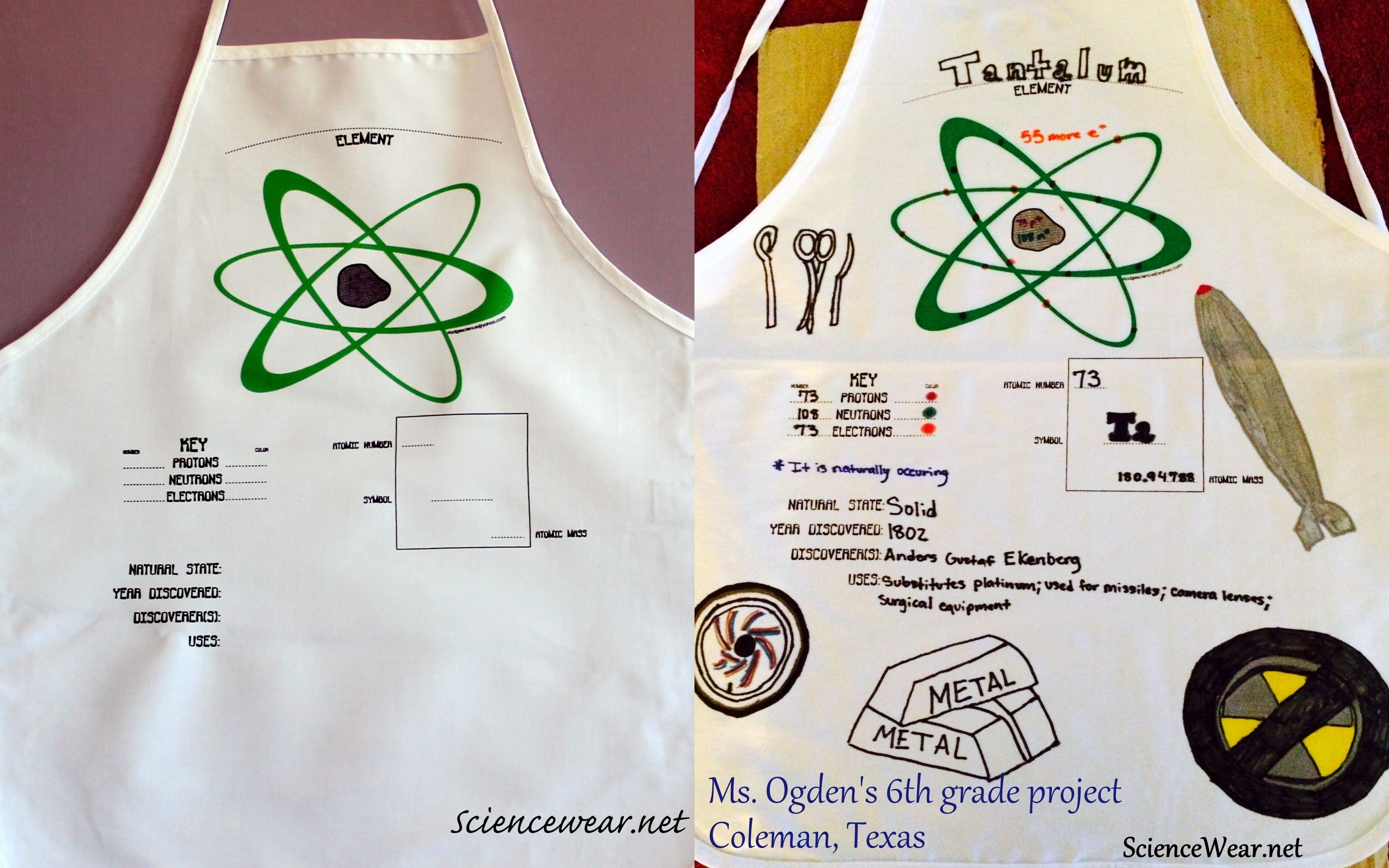 Before And After Of Tantalum Element Apron Done By 6th