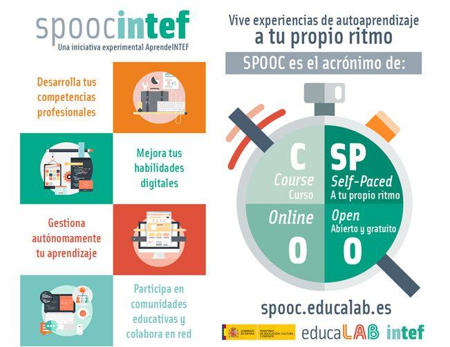 Infografía SPOOC Intef