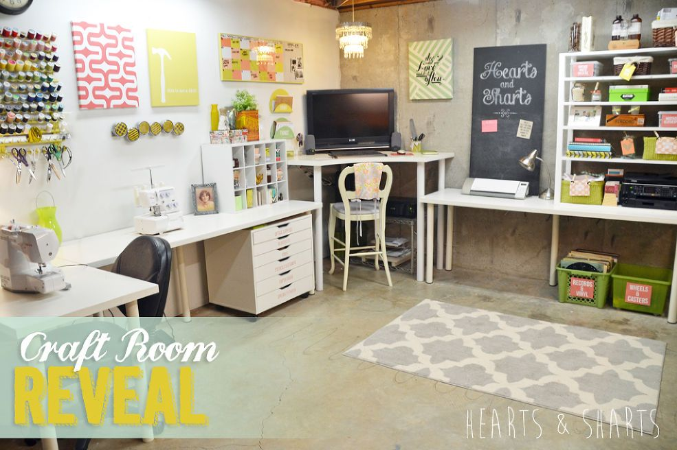 Craft Room #craftroommakeovers