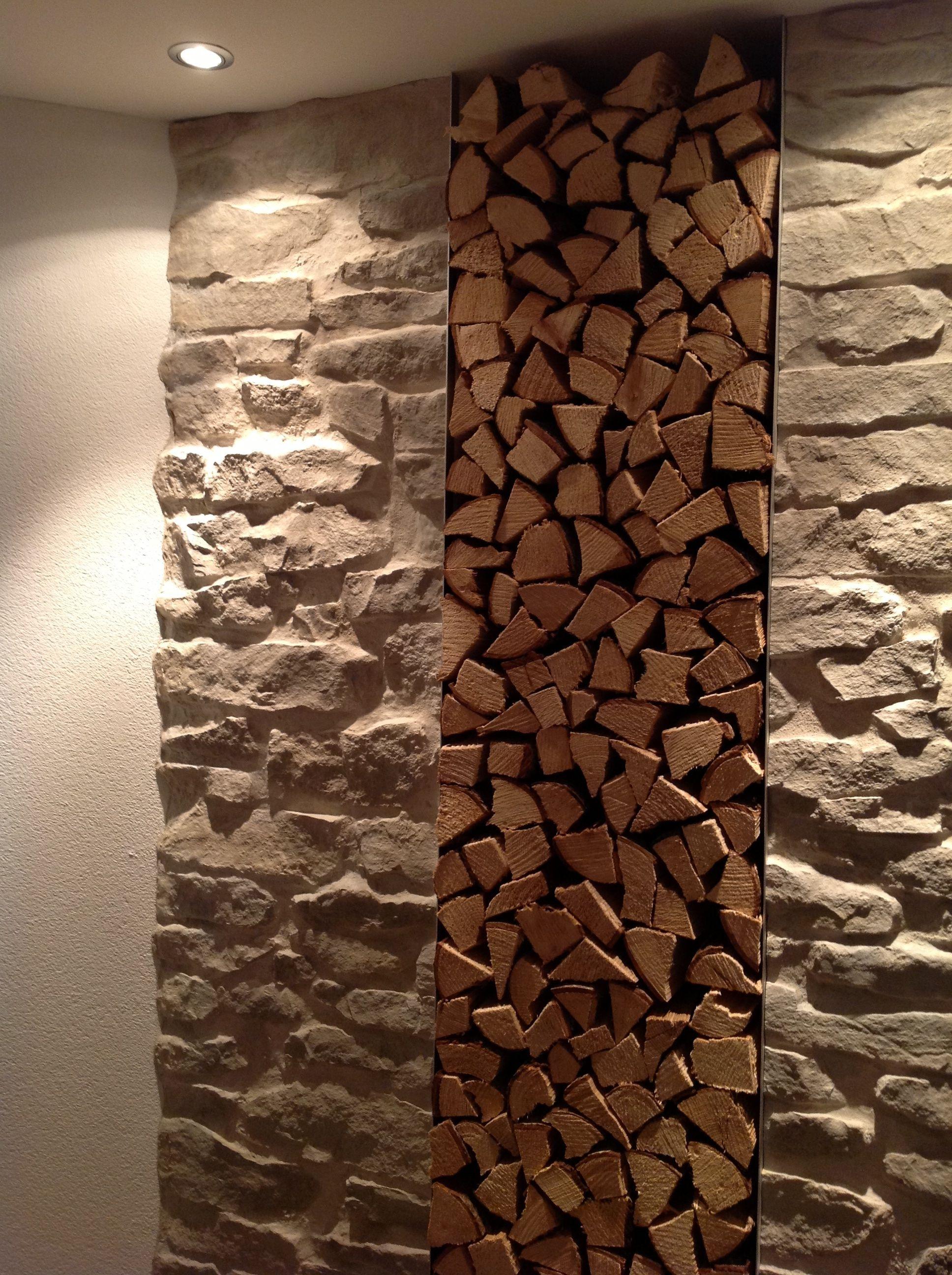 Kamin kunststeinwand lajas gris kamin mit steinoptik in for Dekorative bilder wohnzimmer