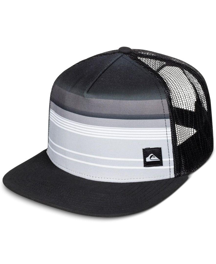 Quiksilver Men s Everyday Stripe Trucker Hat  3394e3afe199