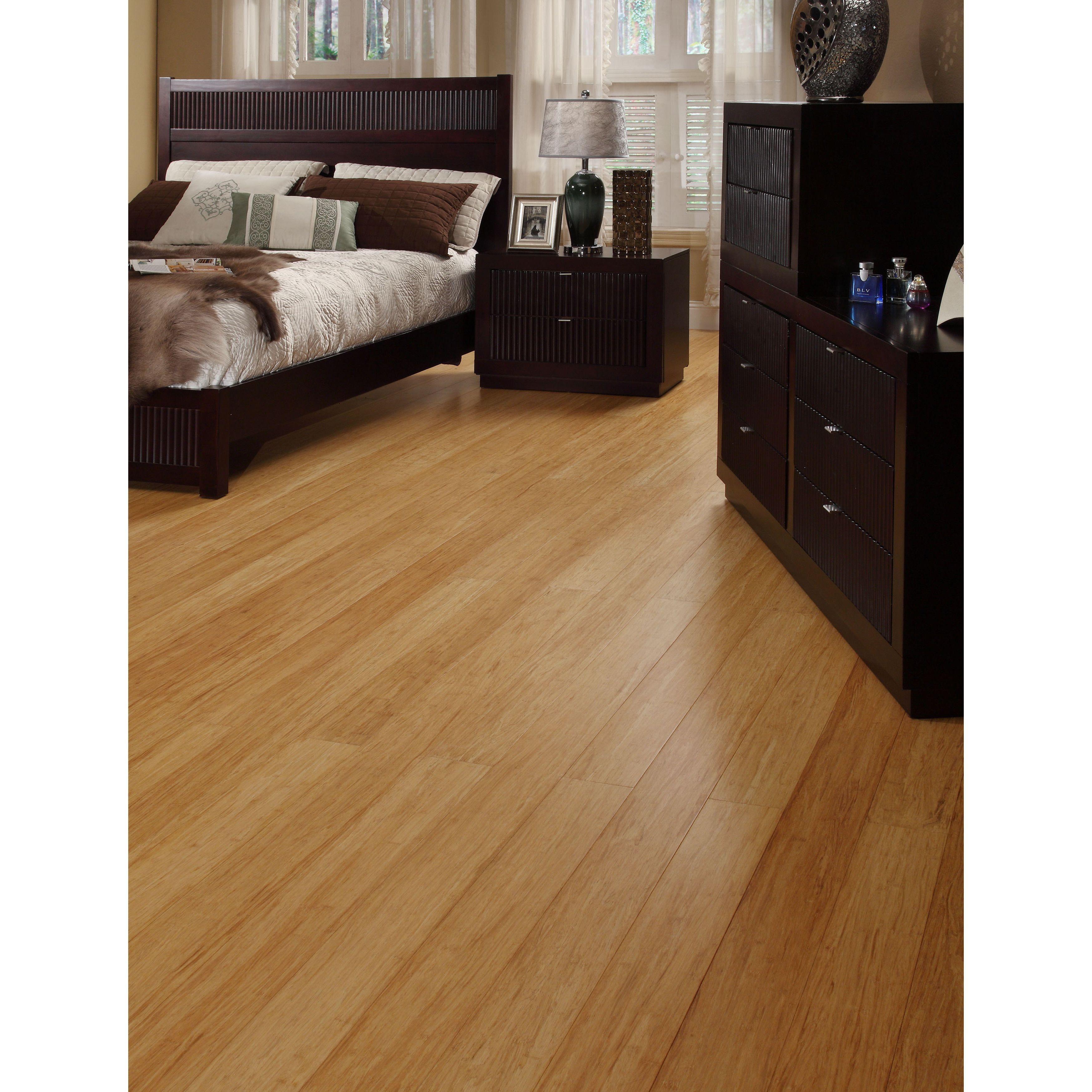 Strand Bamboo Laminate Flooring: Envifloors Envi Strand-woven 25.2 Sq. Ft. Natural Bamboo