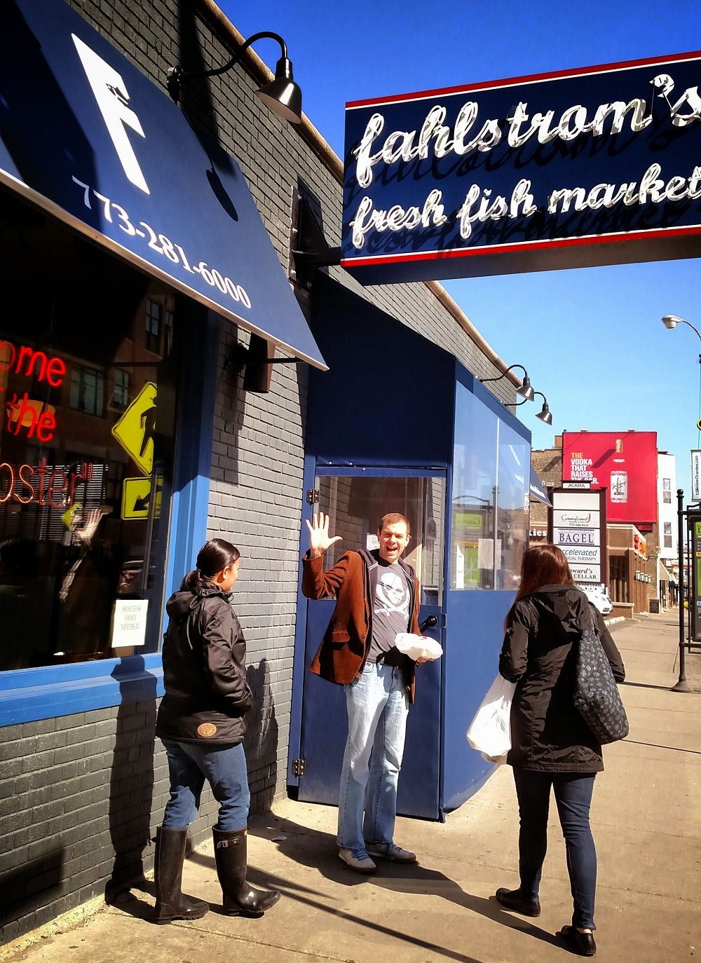 Fahlstrom S Fresh Fish Market Lakeview Chicago Fresh Fish Market Fresh Fish Specialty Food Shop